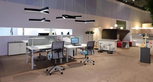 ¿Cómo iluminar una oficina? 1